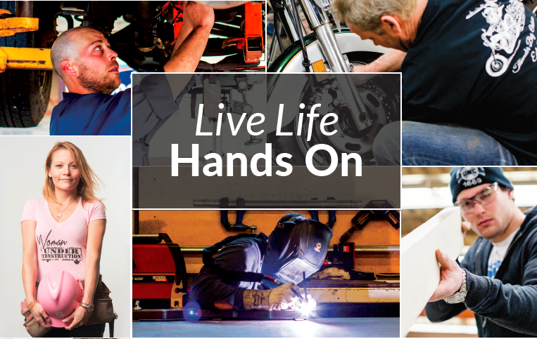 Live Life Hands On poster